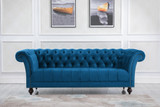Chester Midnight Blue 3 Seater Sofa