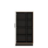 Brolo Wide 1 Door Bookcase