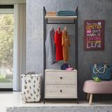 Zahra 3 Piece Bedroom Furniture Set in Ash Oak