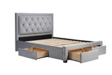 Woodbury Bed with Storage Drawers