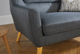 Lambeth Grey Medium Sofa