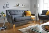 Lambeth Grey Large Sofa