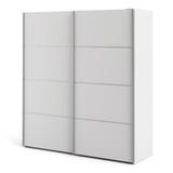 Verona White Sliding Wardrobe (180cm)