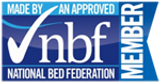 Made by an approved National Bed Federation member