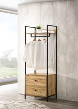 Zahra 4 Piece Bedroom Furniture Set in Oak