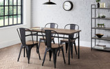 Carnegie Dining Table with 4 Grafton Chairs
