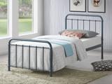 Miami Grey Metal Bed