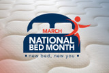 March is National Bed Month