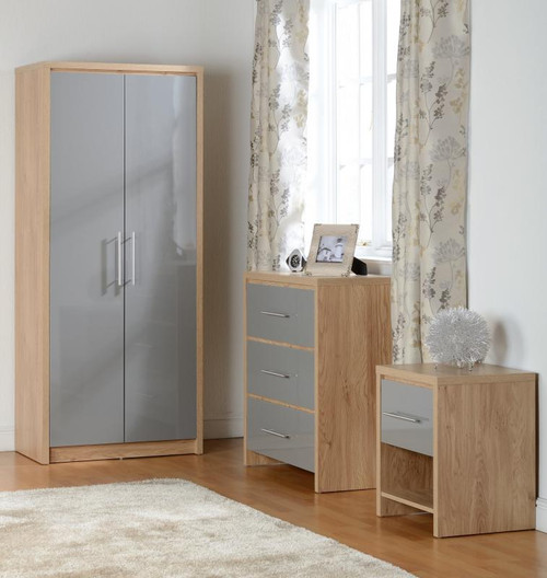 Seville Grey Bedroom Set