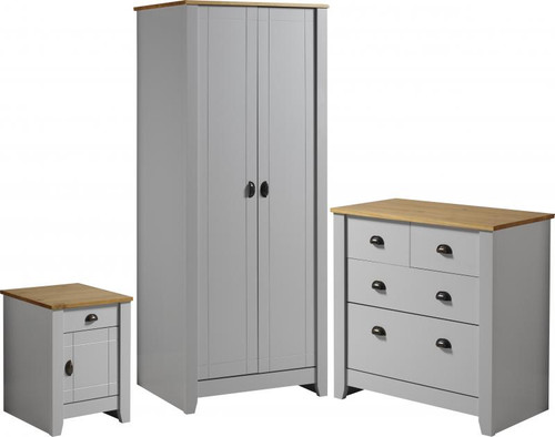 Ludlow Grey Bedroom Set