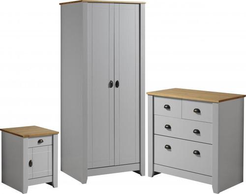 Ludlow Grey Bedroom Set