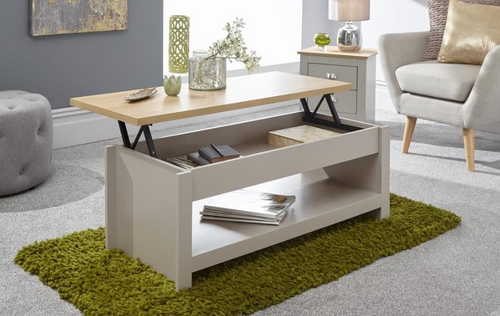 Lancaster Grey Lift Up Coffee Table