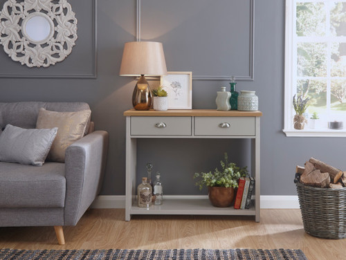 Lancaster Grey Console Hall Table
