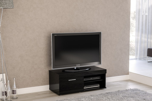 Edgeware Black Small TV Unit