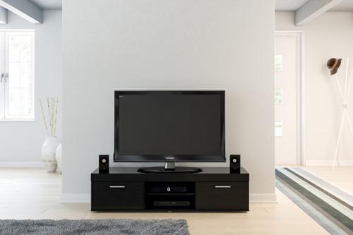 Edgeware Black TV Unit