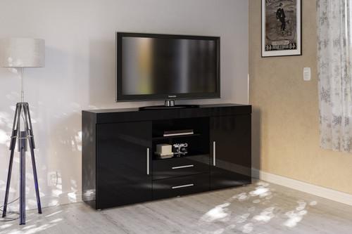 Edgeware Black 2+2 Sideboard