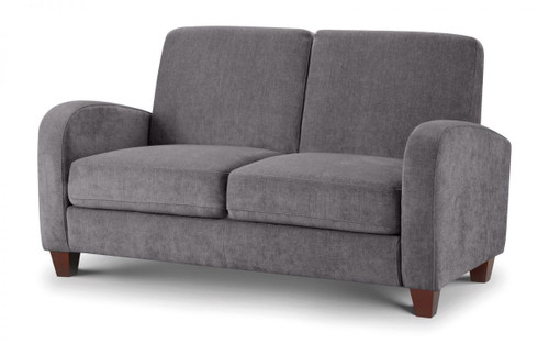 Vivo Dusk Grey 2 Seater Chenille Fabric Sofa