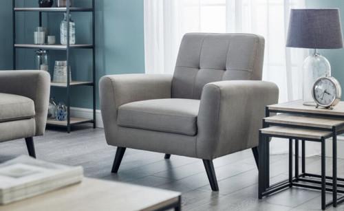 Monza Grey Armchair