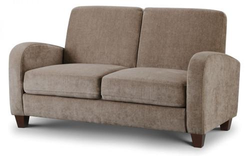 Vivo Mink Chenille 2 Seater Fabric Sofa