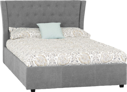 Camden Grey Fabric Bed