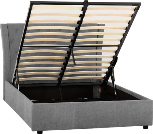 Camden Plus Grey Storage Bed