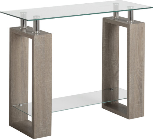Milan Light Grey Console Table