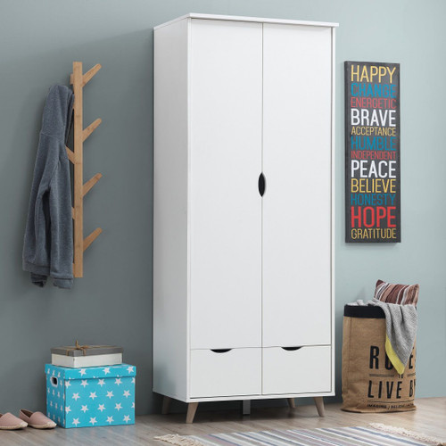 Pulford 2 Door 2 Drawer Wardrobe