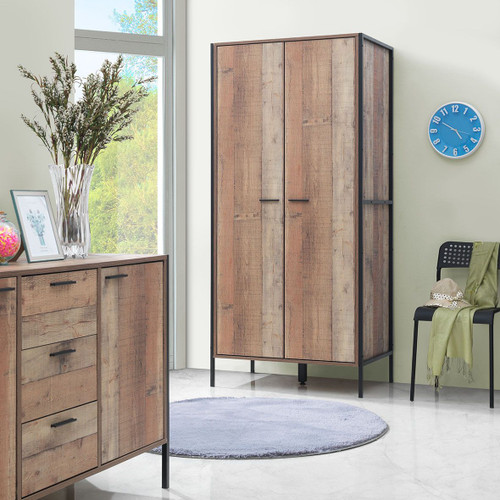 Stretton Dressing 2 Door Wardrobe