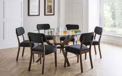 Chelsea Large Glass Dining Set