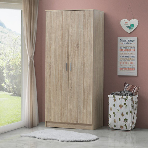 Rio Sonoma Oak Costa 2 Door Wardrobe