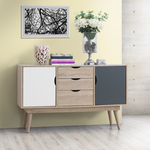 Alford Grey & White Sideboard