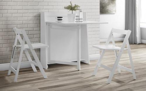 Helsinki Dining Set in White