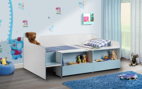 Stella Blue Low Sleeper Bed
