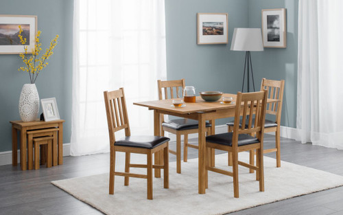 Coxmoor Extending Oak Dining Set