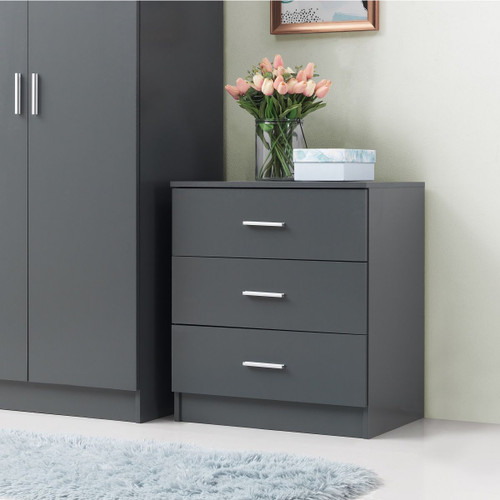 Rio Costa Grey 3 Drawer Chest