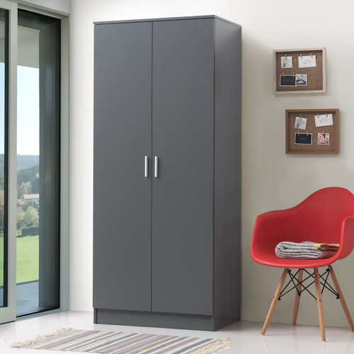 Rio Costa Grey 2 Door Wardrobe