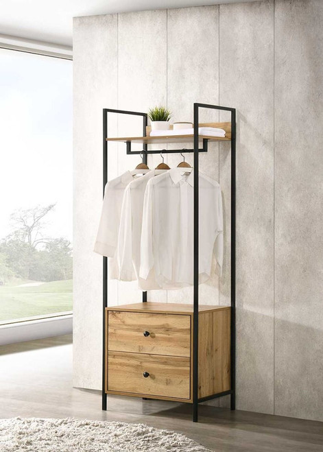 Zahra Open Wardrobe with 2 Drawers