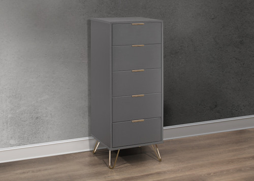 Arlo Narrow 5 Drawer Chest