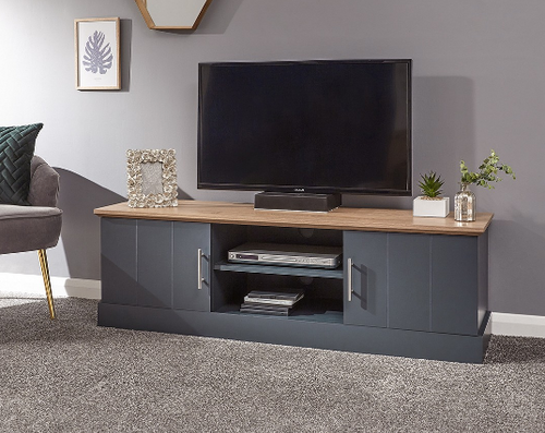 Kendal Slate Blue Large TV Unit
