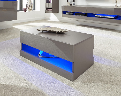 Galicia Grey Light-up Coffee Table