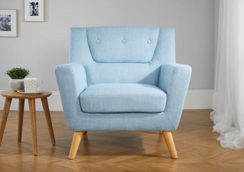 Lambeth Duck Egg Blue Armchair
