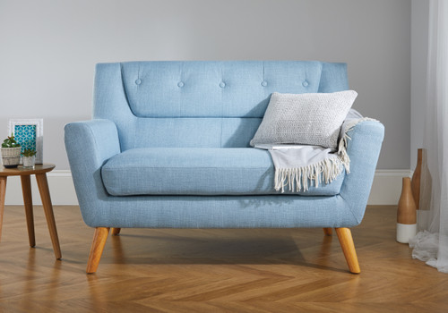 Lambeth Duck Egg Blue Medium Sofa