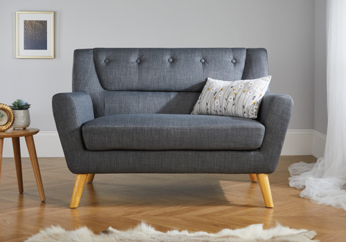 Lambeth Grey Medium Sofa