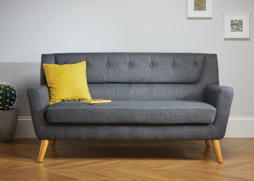 Lambeth Grey Large Sofa