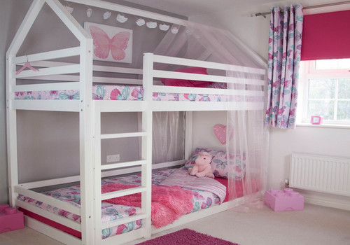 Play House Bunk Bed in White
