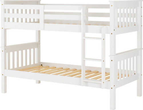Neptune Bunk Bed White (Profile)