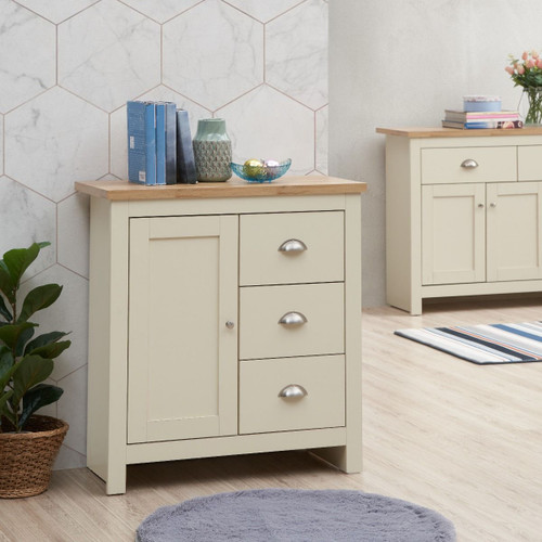 Lisbon 1 Door 3 Drawer Sideboard