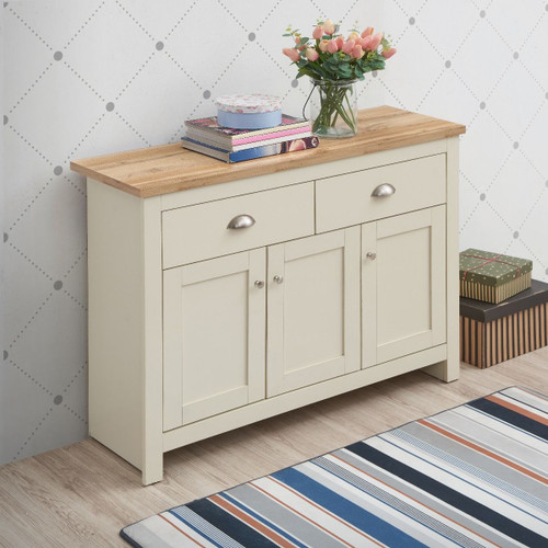 Lisbon 3 Door 2 Drawer Sideboard