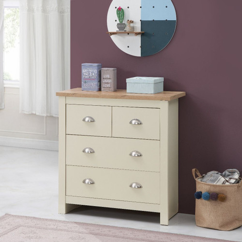 Lisbon 4 Drawer Chest