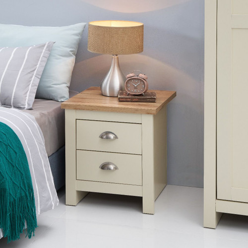 Lisbon 2 Drawer Nightstand